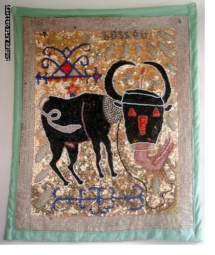 Bossou Antique Vodou Banner