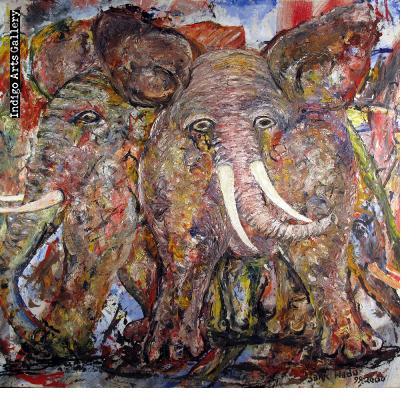 Elephant Fossil