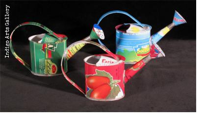 Tin-Can Watering Can Ornament