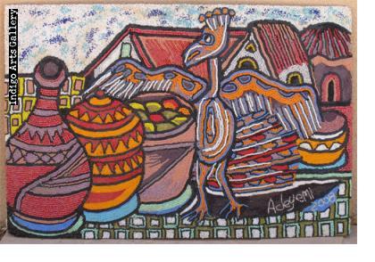 Yinka Adeyemi (1941 -), Oshogbo, Nigeria