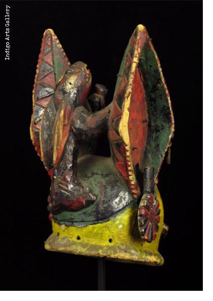 Yoruba Gelede Mask