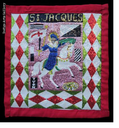 St. Jacques - Vodou Flag