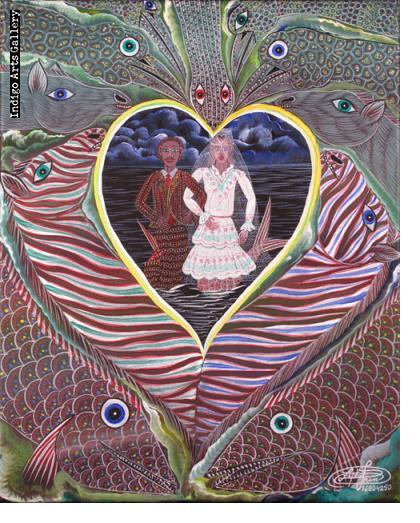 Mariage d'Agoue et Simbi