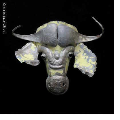 Recycled Steel Cape Buffalo Mask
