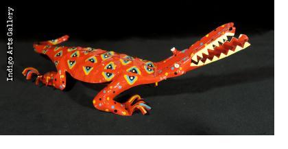 Painted Crocodile (large size)