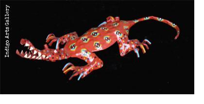 Painted Crocodile (medium size)