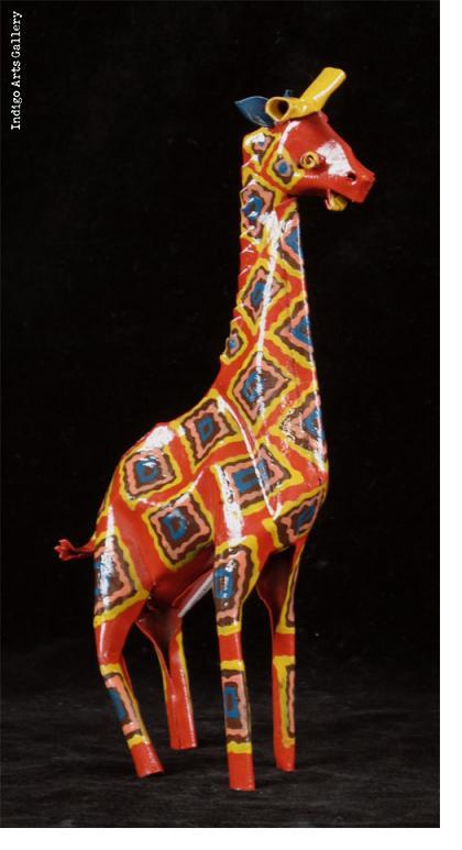 Painted Giraffe (large size)