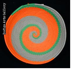 mbenge Zulu Telephone Wire Basket (bowl shape)