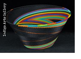 Imbenge Telephone Wire Basket (Large deep flared bowl)