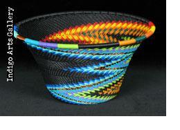 Imbenge - Small Flared Bowl (bright multicolor)