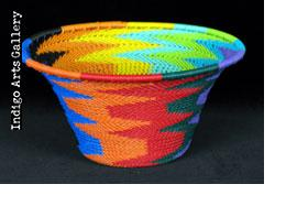 Imbenge - Small Flared Bowl (bright multicolor)