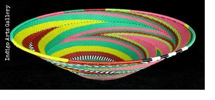 Imbenge Telephone Wire Basket (shallow flared shape)