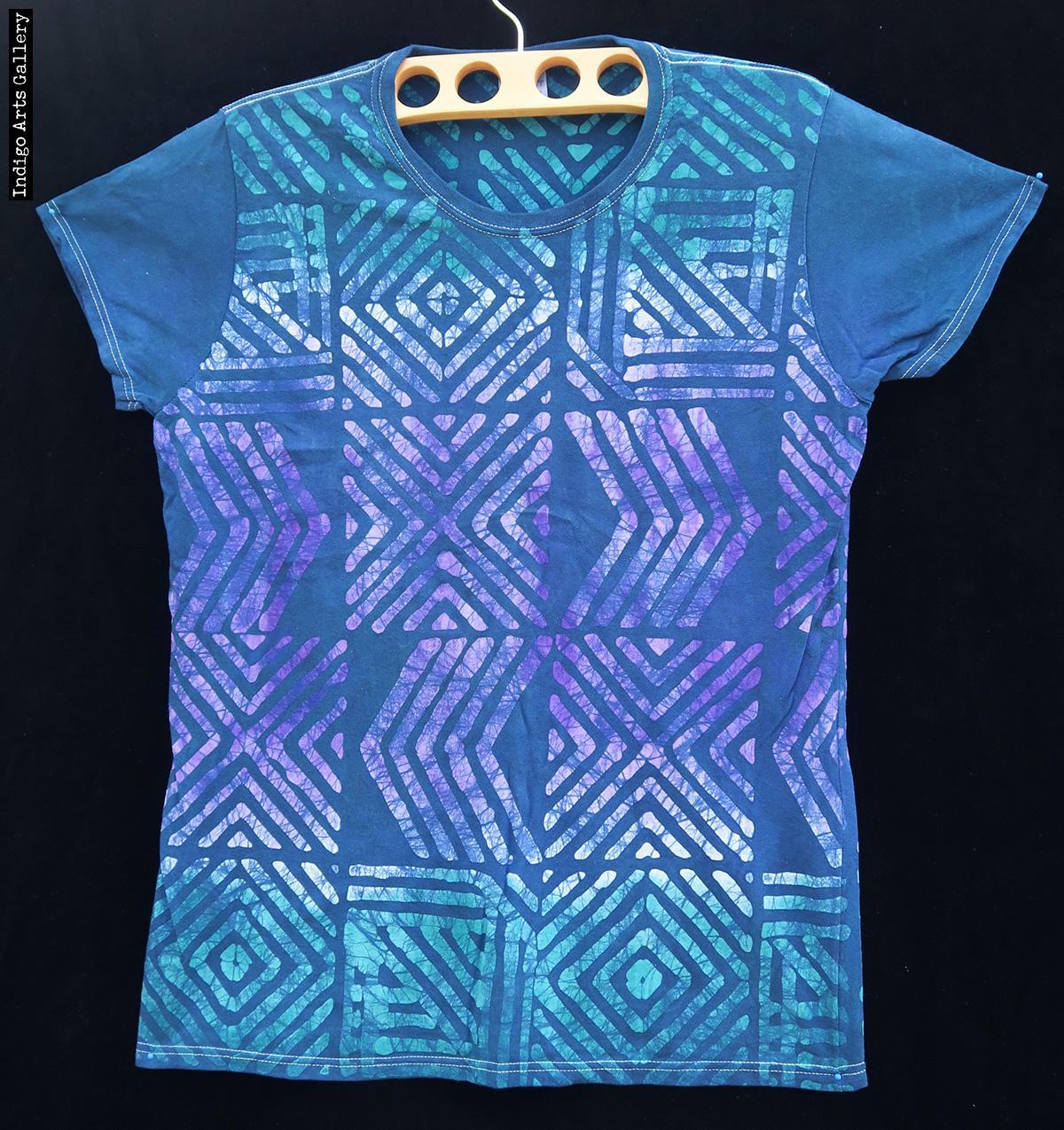 Batik T Shirt By Gasali Adeyemo