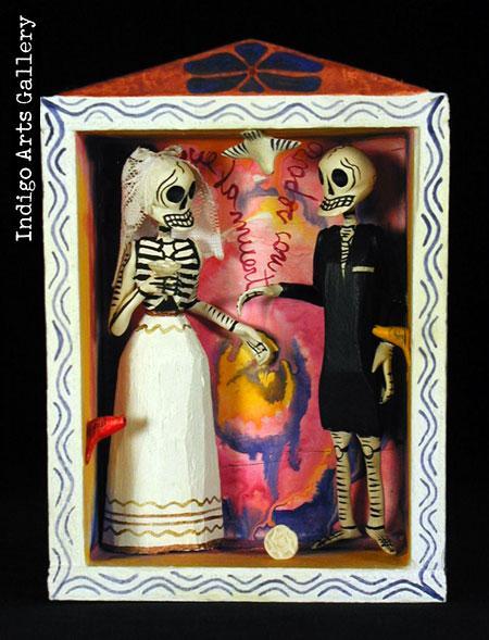 Until Death Do Us Part - Retablo   Indigo Arts