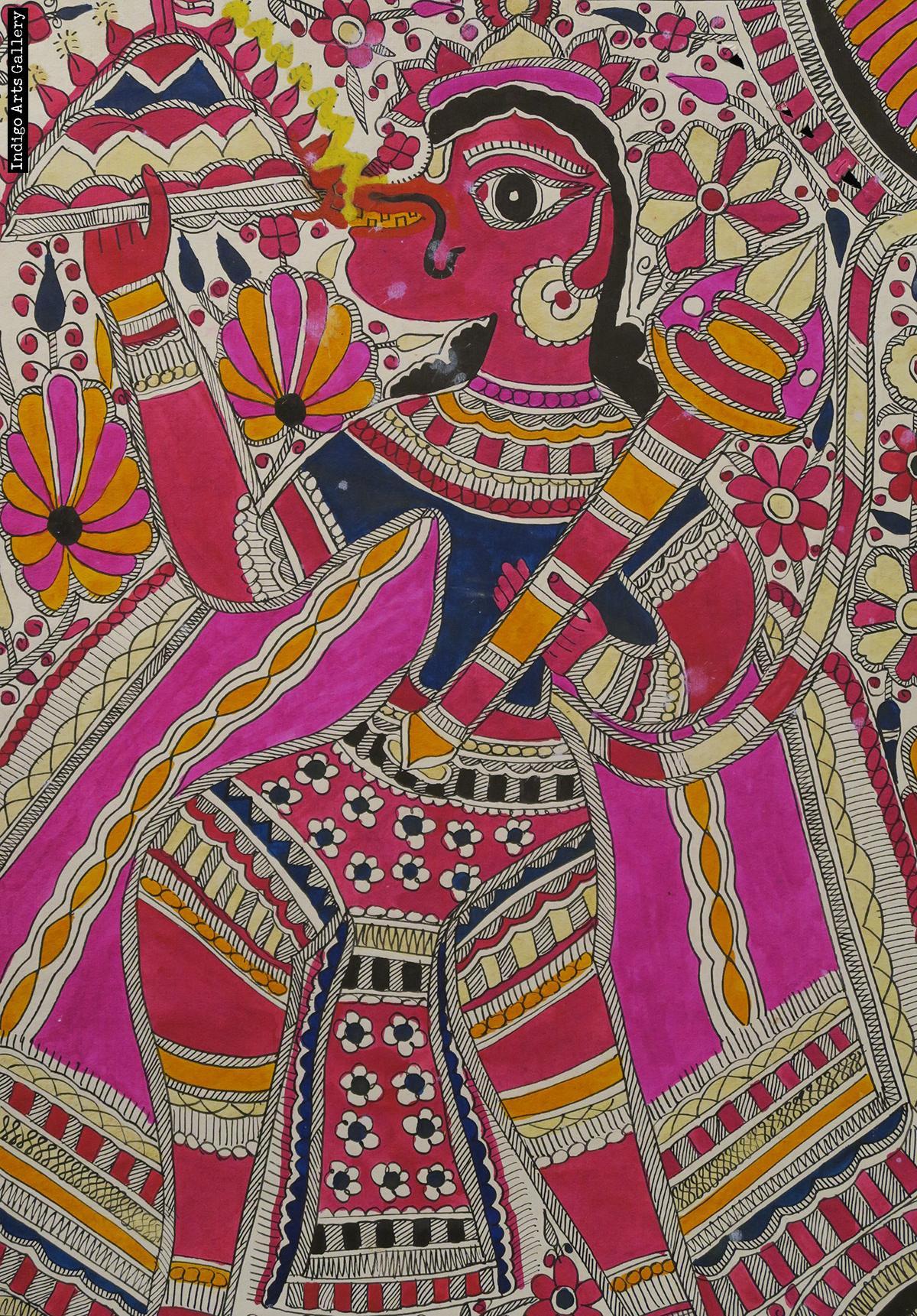 Mithila painting | Indigo Arts